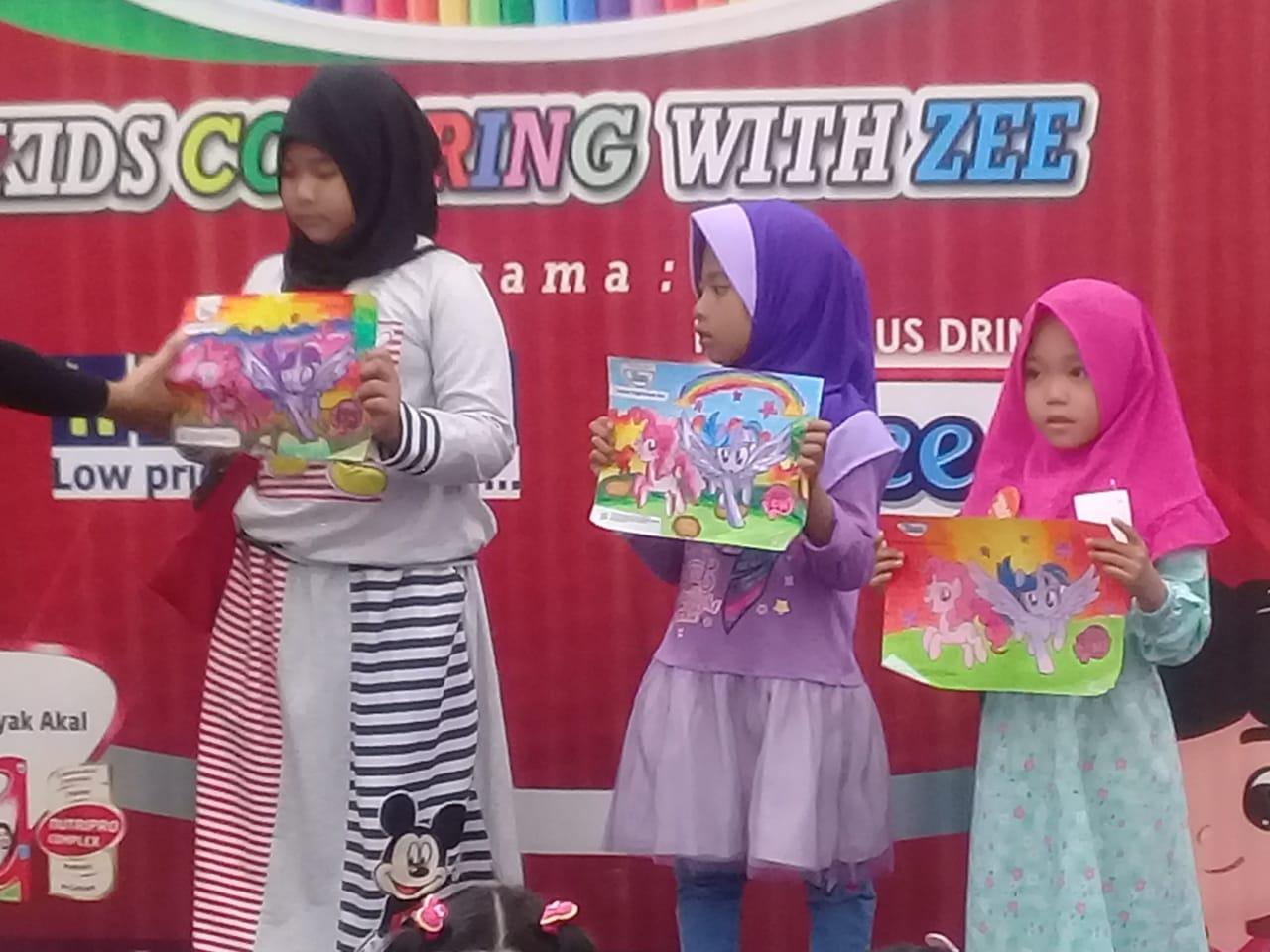 SD JUARA AL HIKMAH Di Kids Coloring Zee